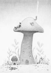 Mushroom by Bastet-mrr