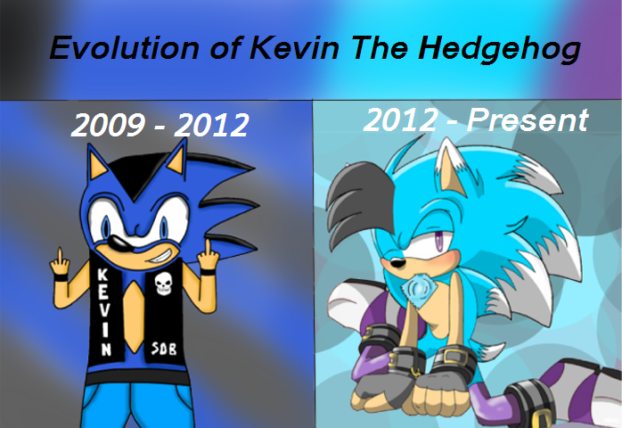 Kevin The Hedgehog Evolution of Ke...
