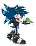 Kevin The Hedgehog (SA) by Kevster823
