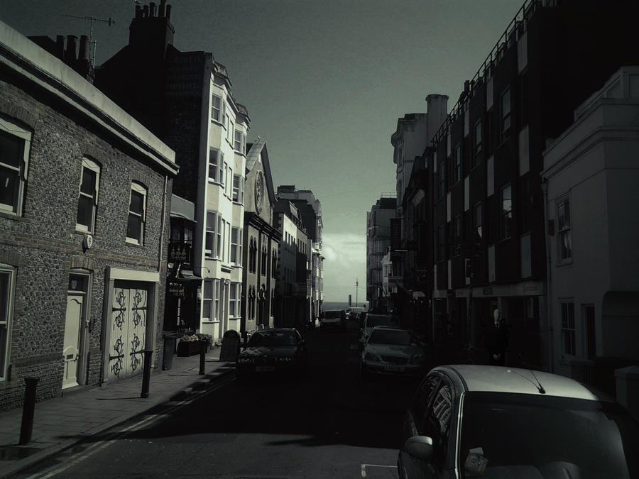 Brighton Street w/ filter by Necro-Romancer