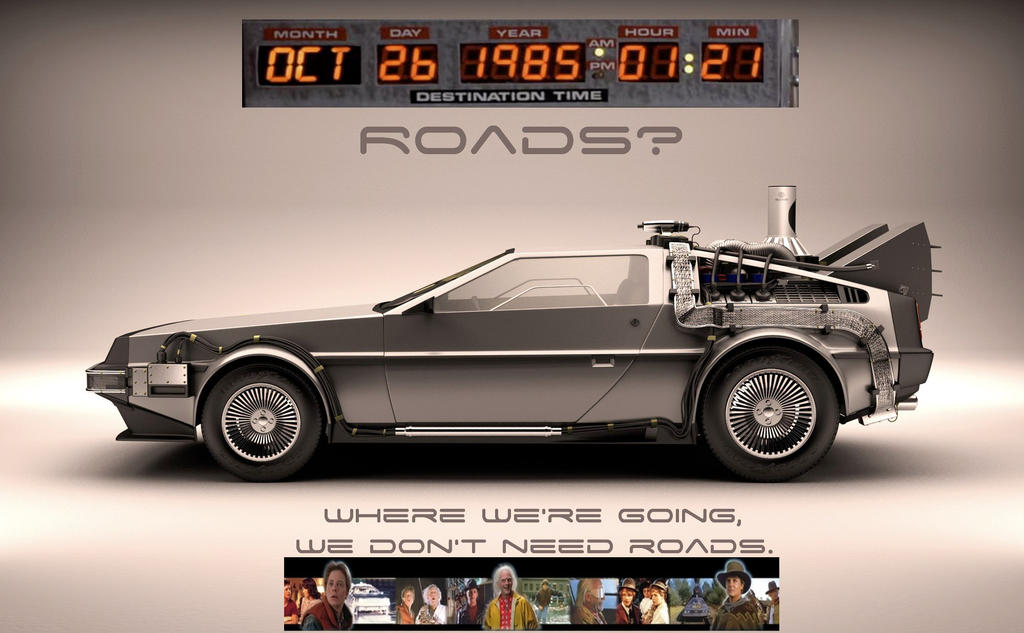 BACK TO THE FUTURE DELOREAN by jhorsfield30
