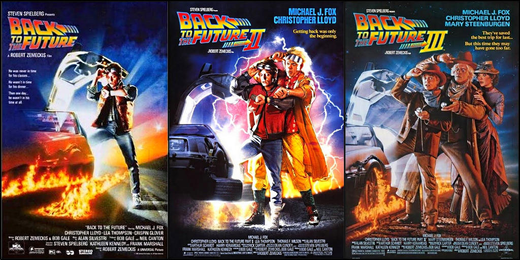 BACK TO THE FUTURE TRILOGY COLOURS - EDITED by jhorsfield30