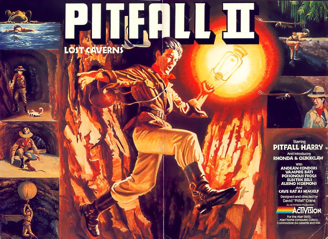 Pitfall 2 Retro remake mod - Game link by retroreloads on