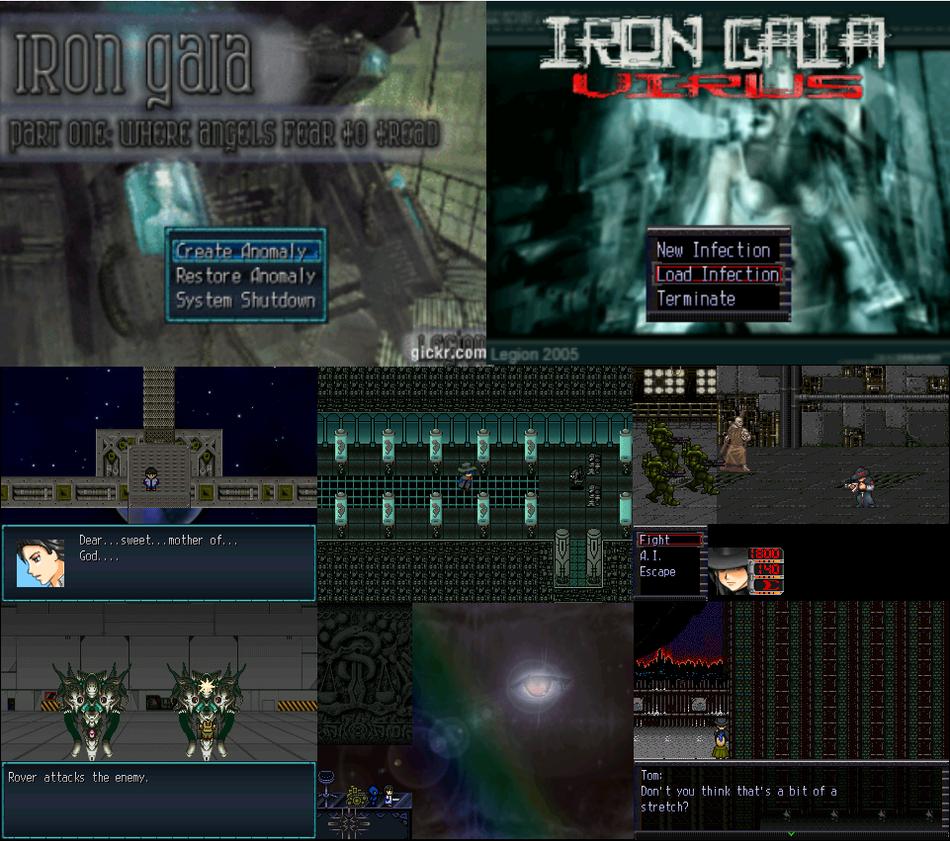 RPG Maker - Cyberpunk/AI Dystopian games
