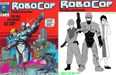 Robocop cartoon commissioned art edits Ktou comic1 by retroreloads
