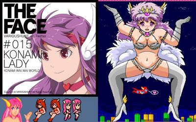 konami-lady edit by retroreloads