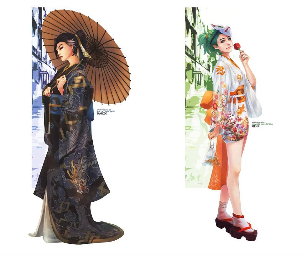 Hanzo-fall-genji   Summer Collection Monorirogue by retroreloads