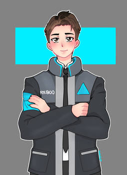 Detroit becoming human : Connor