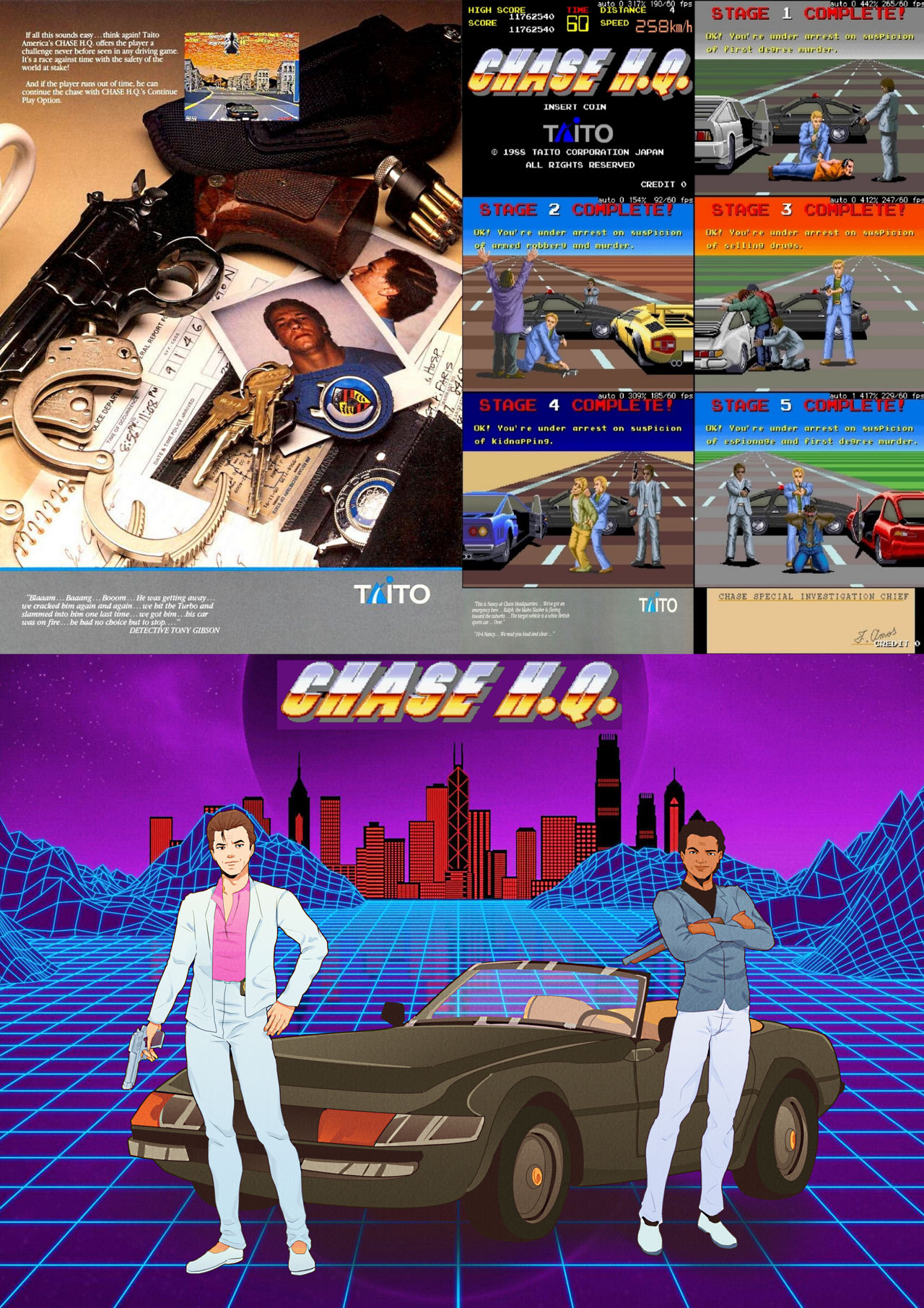 ChaseHQ 11.762m - Crockett and Tubbs by ktou combo