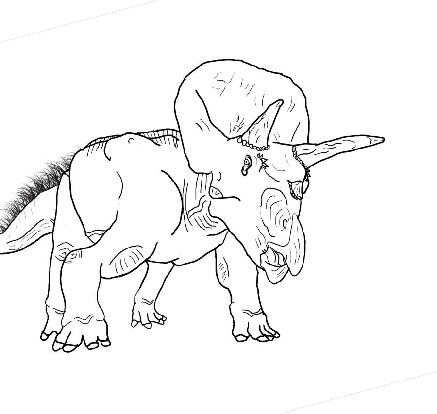 Giganotosaurus Coloring Pages Sketch