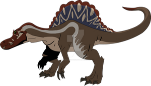 Jurassic Park Primal: Spinosaurus