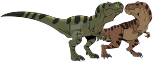 Jurassic Park Primal: Power Couple