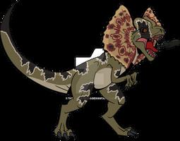 Jurassic Park Primal: Dilophosaurus