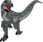 Jurassic World Primal: Blue