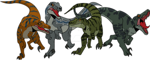 Jurassic World Primal: Raptor Squad