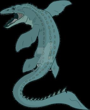 Jurassic World Primal: Mosasaurus