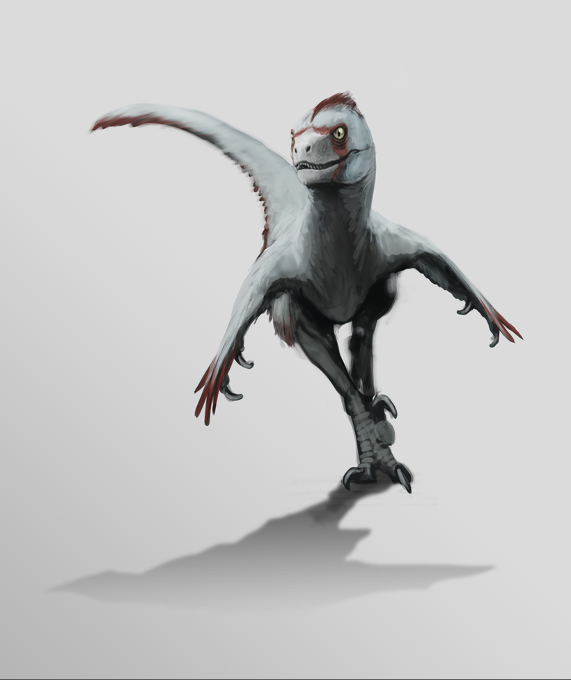 Cricket out hunting - Velociraptor mongoliensis by FabrizioDeRossi