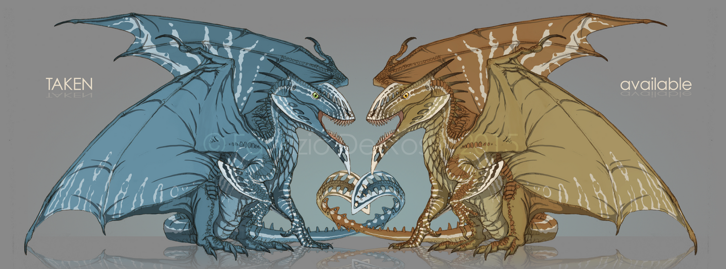 Western Knifehead - Dragon Adoptables by FabrizioDeRossi