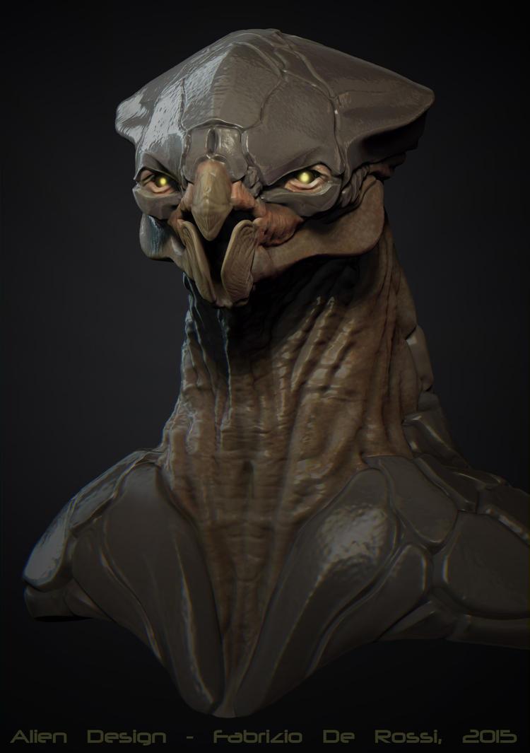 Alien Design 001 by FabrizioDeRossi