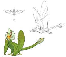 Phalaenopsimimus giganteus concept by FabrizioDeRossi
