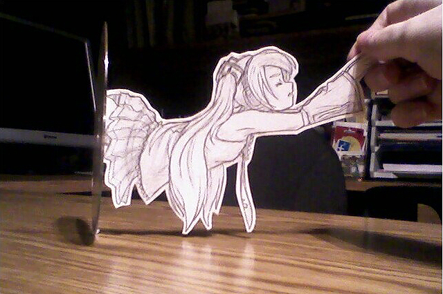 Paper Child: Miku 2 by Pimmy