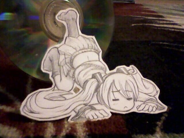 Paper Child: Miku 3 by Pimmy