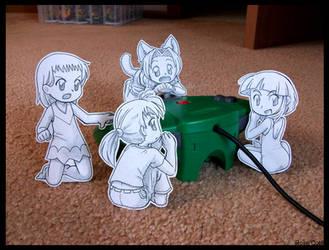 Paper Child: Bonus Stage REDO