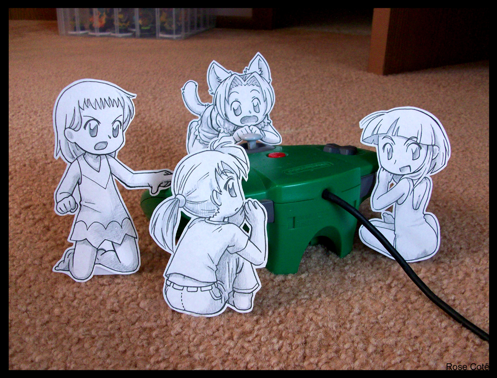 Paper Child: Bonus Stage REDO by Pimmy