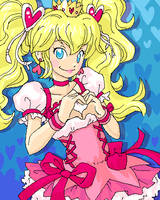 Cure Princess Peach by Pimmy