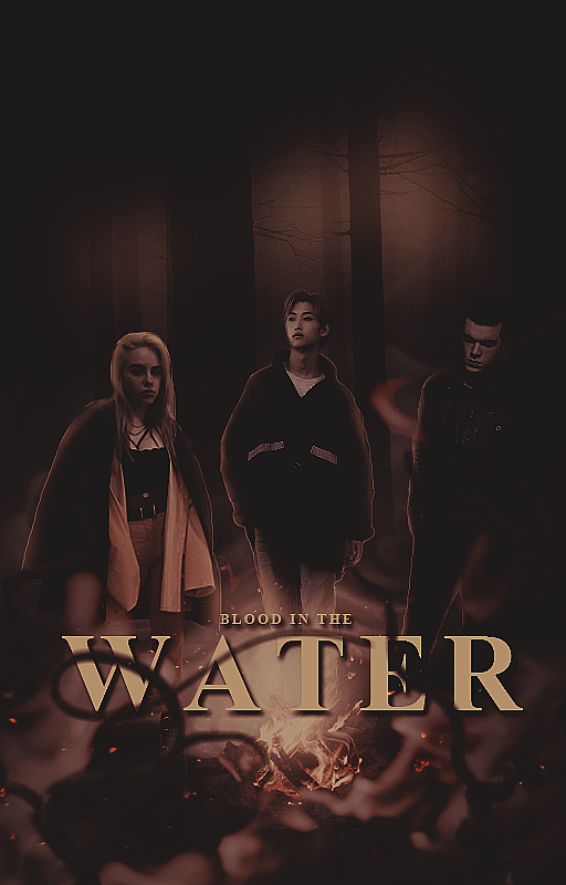 Blood in the Water Wattpad Cover