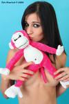 Lindsey Meets Pink Monkey