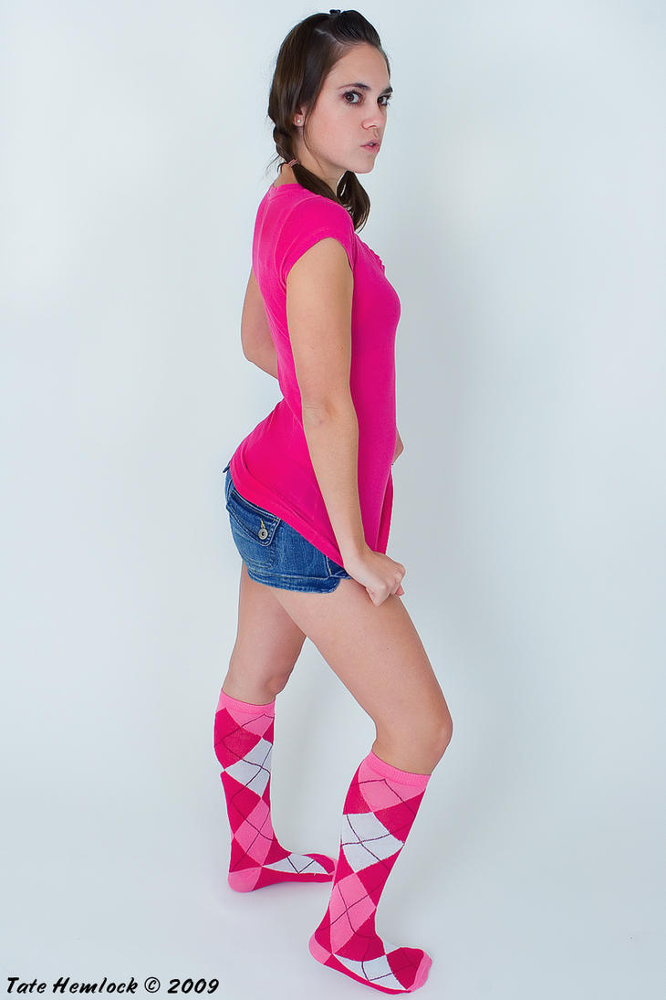 Pink Socks 01 by tatehemlock