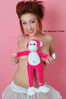 Will The Real Pink Monkey? 01 by tatehemlock
