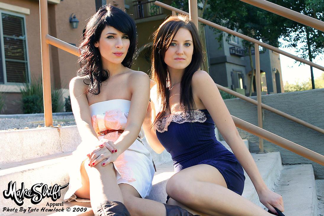 Nadia and Yvette For Makeshift by tatehemlock