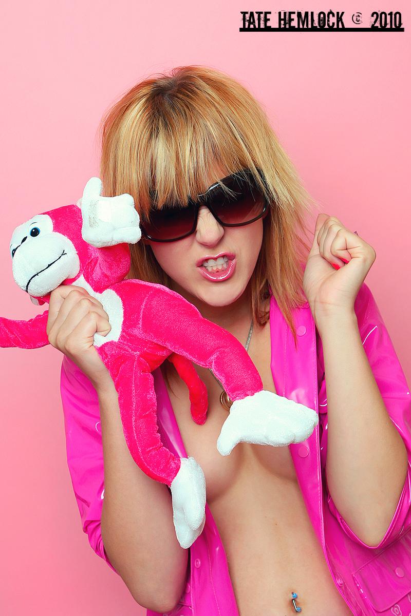 Faster Pink Monkey Kill Kill by tatehemlock
