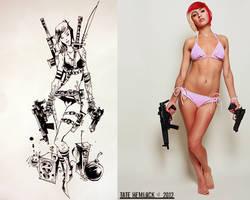Beverly Zoey by Jim Mahfood 02 by tatehemlock
