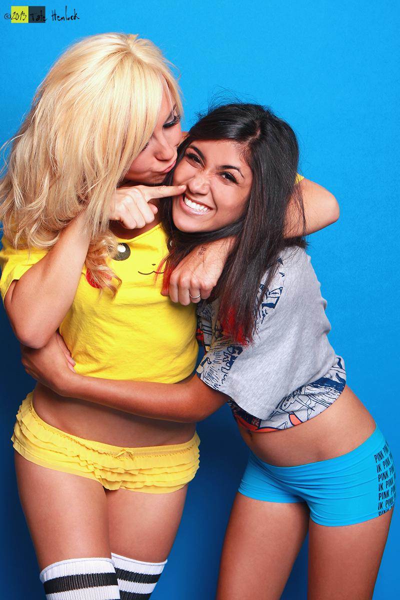 XX Girls 05 Jessica Nigri and Paris Sinclair by tatehemlock