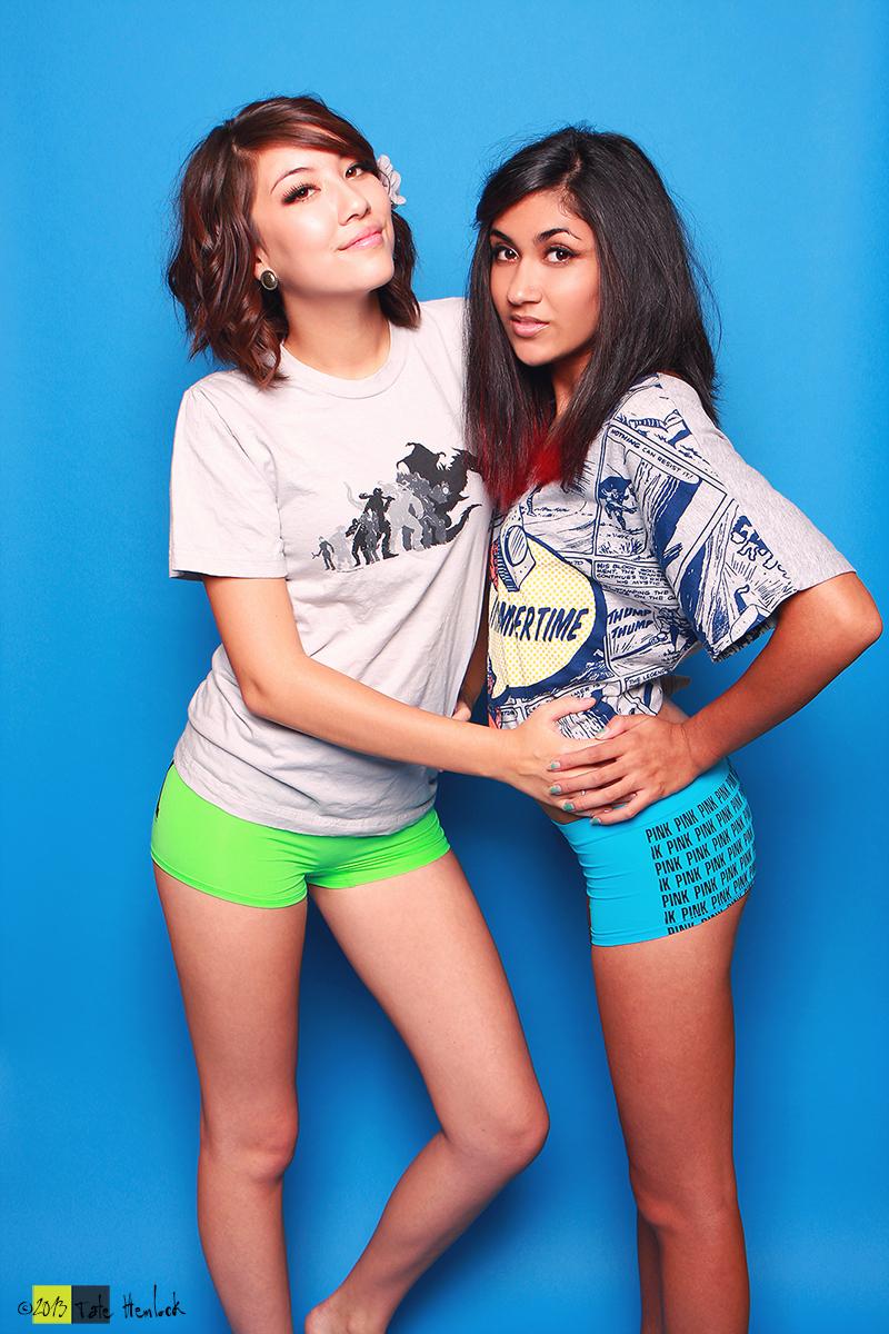 XX Girls 08 Amie Lynn and Paris Sinclair by tatehemlock