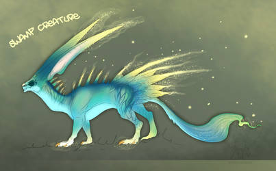 [Auction Adopt] - Swamp Creature -OPEN- 15EURO by TaimaTala