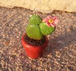 Sculptober Day 9: Polymer clay Cactus 1
