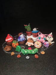 Polymer clay collage 2