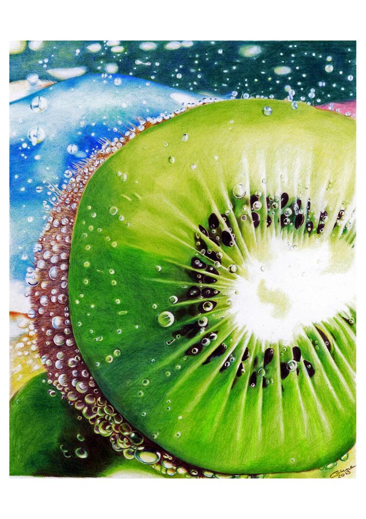 Bubbly kiwi by Gunchixs