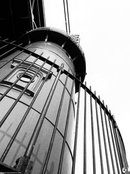 Lighthouse Beneath the Bridge