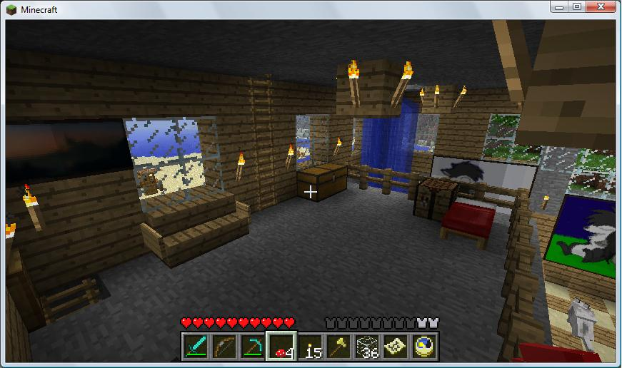 Minecraft Platform Room By Brutus500 On DeviantArt