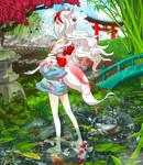 Tsuyu Pond by heliolu
