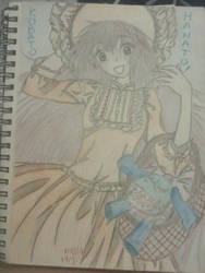 kobato hanato (finnished drawing and color pencil)