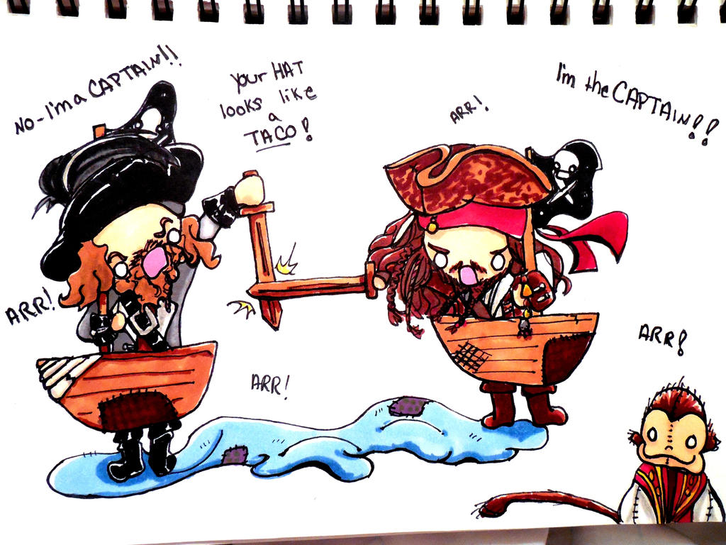 POTC I'm the Captain by evangeline40003