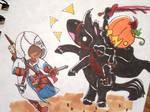 The Headless Horseman by evangeline40003