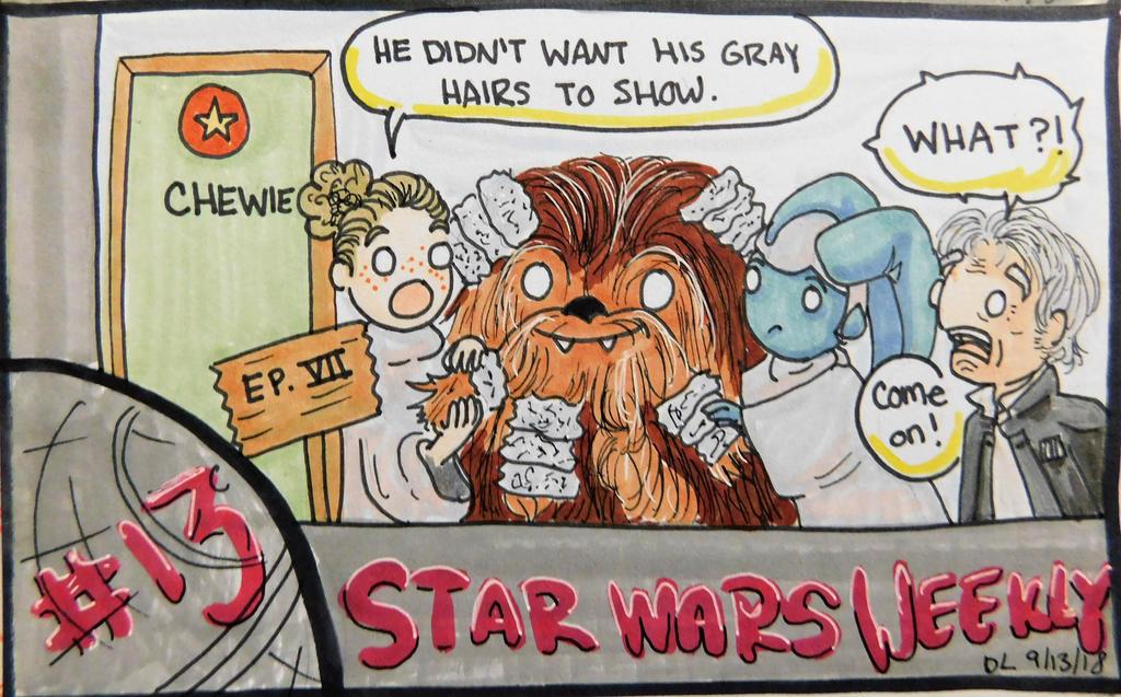 STAR WARS WEEKLY #13 by evangeline40003