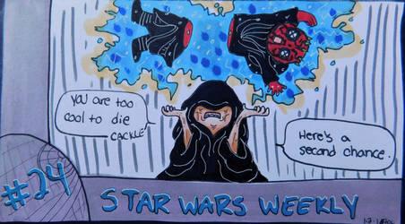 STAR WARS WEEKLY #24 by evangeline40003